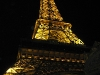 Replica Eiffel Tower outside Paris Las Vegas