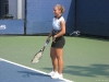 Dominika Cibulkova practicing at the 2008 US Open