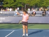 Sorana Cirstea practicing at the 2008 US Open