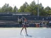 Daniela Hantchukova practicing at the 2008 US Open